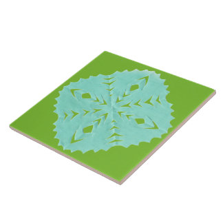 ABSTRACT SQUARE WYCINANKI BL TILES