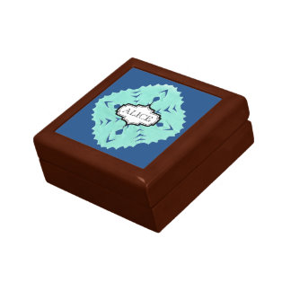ABSTRACT SQUARE WYCINANKI GIFT BOX