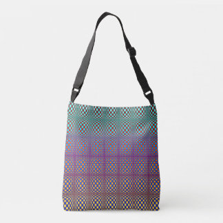 Abstract Squares 3 Crossbody Bag