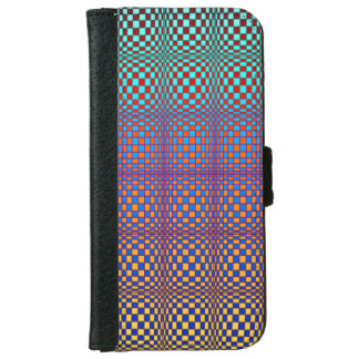 Abstract Squares 3 iPhone 6 Wallet Case