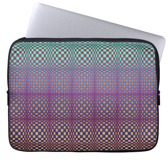Abstract Squares 3 Laptop Computer Sleeve