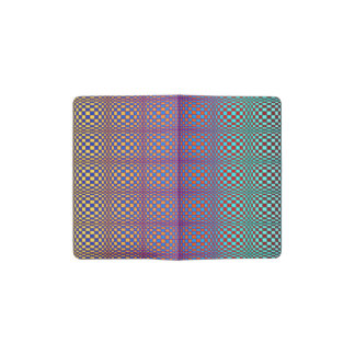 Abstract Squares 3 Pocket Moleskine Notebook