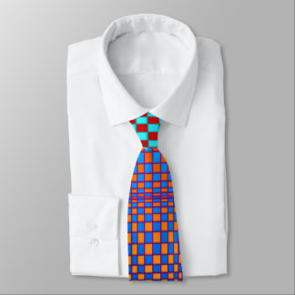 Abstract Squares 3 Tie