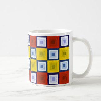 Abstract Squares Mug