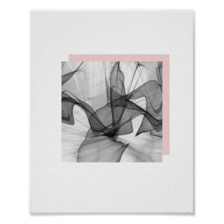 Abstract Squares Poster | 8x10