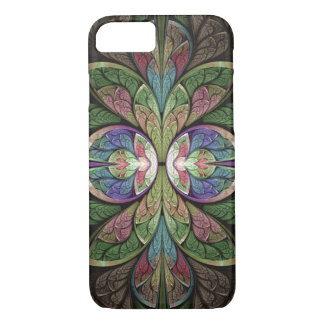 Abstract Stained Glass Duchess of Sauchiehall iPhone 8/7 Case