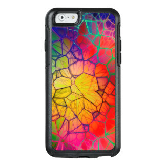 Abstract Stained Glass Glow OtterBox iPhone 6/6s Case