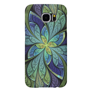 Abstract Stained Glass La Chanteuse IV Samsung Galaxy S6 Cases
