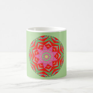 Abstract Star Fractal Coffee Mug
