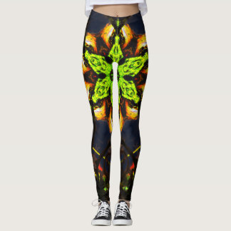 Abstract Star Leggings