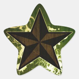 Abstract Star Star Sticker