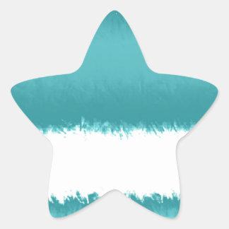 abstract star sticker