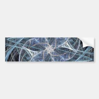 Abstract Starfish Bumper Sticker