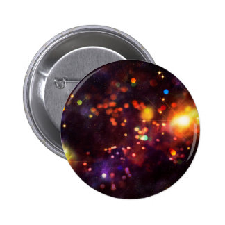 Abstract Starry Background 4 6 Cm Round Badge
