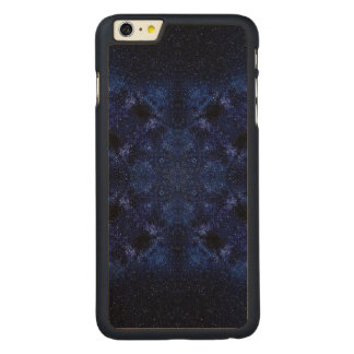 Abstract Starry Sky Carved Maple iPhone 6 Plus Case