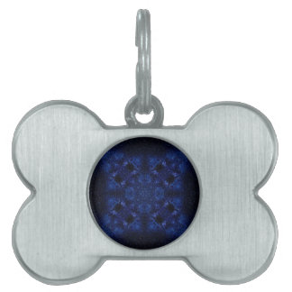 Abstract Starry Sky Pet Tag