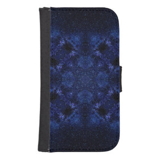 Abstract Starry Sky Samsung S4 Wallet Case