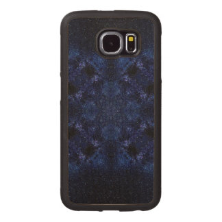 Abstract Starry Sky Wood Phone Case
