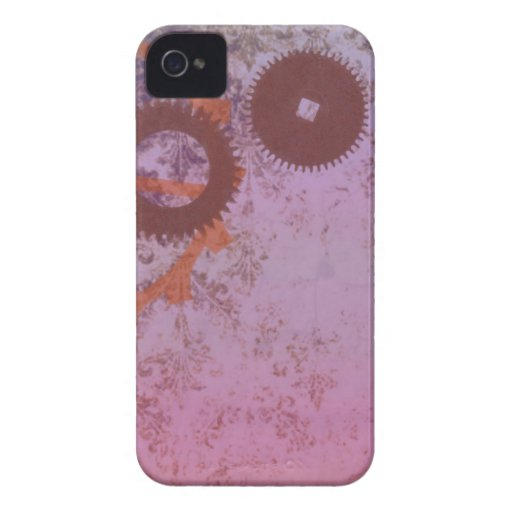 Abstract Steampunk Blackberry Bold Case Case-Mate iPhone 4 Case