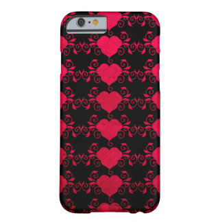 Abstract Steampunk Heart Barely There iPhone 6 Case