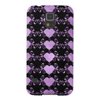 Abstract Steampunk Heart Galaxy S5 Cases
