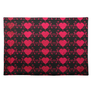 Abstract Steampunk Heart Placemat