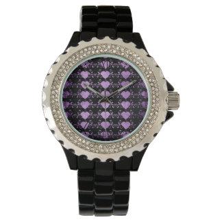 Abstract Steampunk Heart Watch