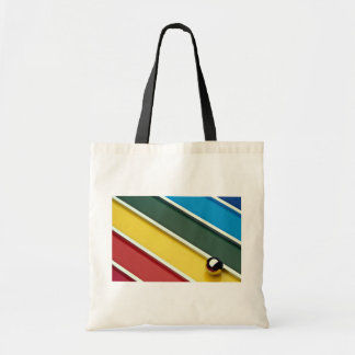 Abstract Steel ball and rods on multicolored acryl Tote Bag