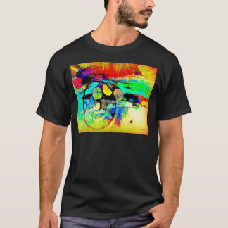 Abstract Steering Wheel #3 T-Shirt