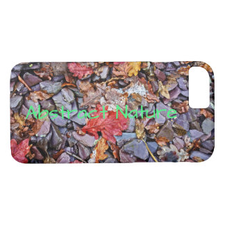 Abstract Stones and Leaves iPhone 8/7 Case
