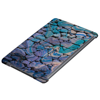 abstract stones blue case for iPad air