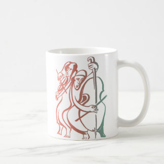 Abstract String Orchestra Coffee Mug