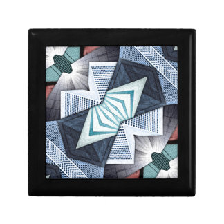 Abstract Structural Collage Gift Box