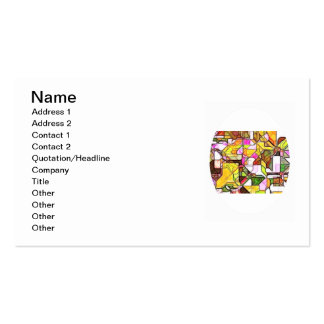 Abstract Structure 1 Pack Of Standard Business Cards