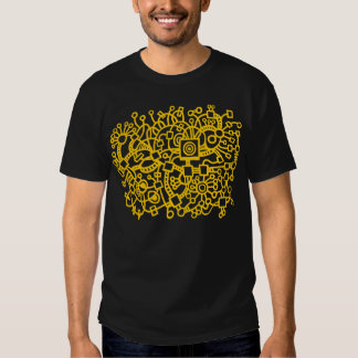 Abstract Structure - Amber Shirts