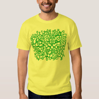 Abstract Structure - Grass Green Tshirts