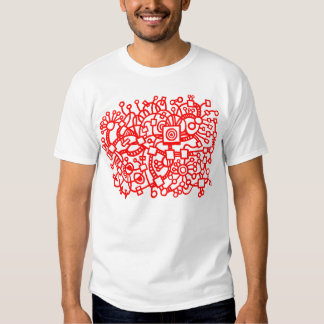 Abstract Structure - Red Shirts