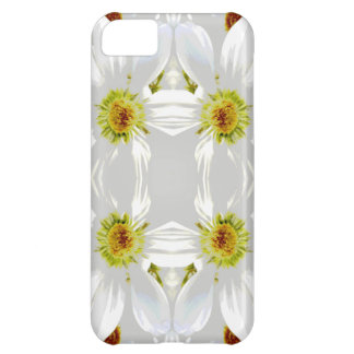 Abstract Style Flowers. iPhone 5C Covers