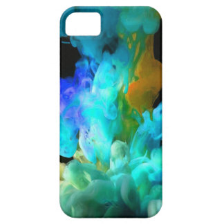 Abstract, Stylish and Trendy Under Water Ink Art Barely There iPhone 5 Case