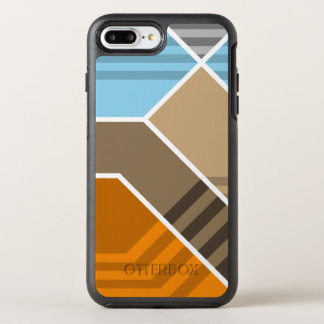 Abstract Subduction Zone OtterBox Symmetry iPhone 8 Plus/7 Plus Case