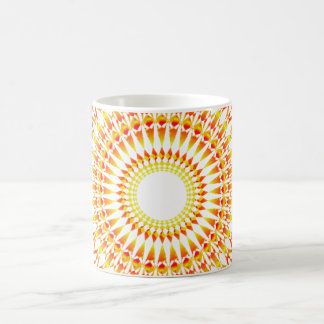 Abstract sun alternative beautiful coffee mug