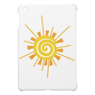 Abstract Sun iPad Mini Cases