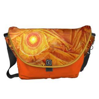 Abstract Sun Courier Bag