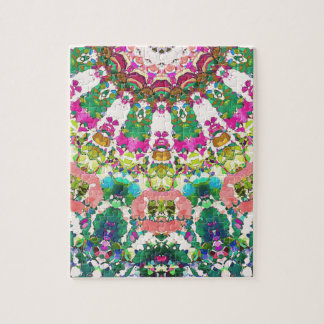 Abstract Sun Rays Mosaic Jigsaw Puzzle