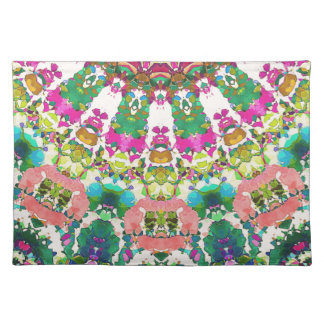 Abstract Sun Rays Mosaic Placemat