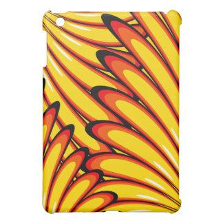 abstract sunflowers ipad case