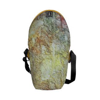 Abstract Sunny Warm Colors Mini Zero Messenger Bag