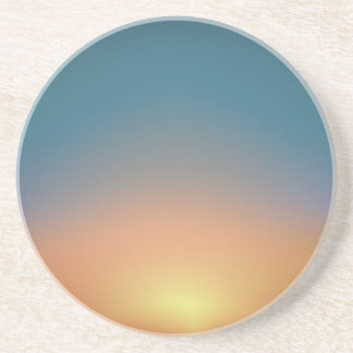 Abstract Sunset Coaster