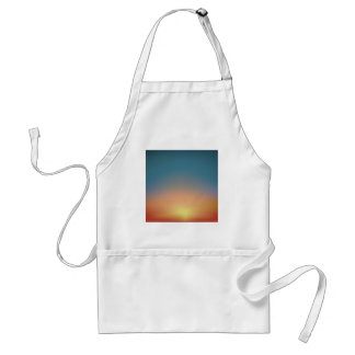 Abstract Sunset Standard Apron