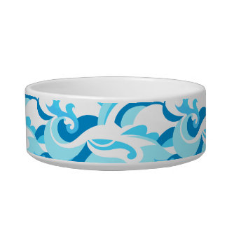 Abstract surf waves bowl